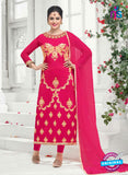 SC 14162 Magenta Faux Georgette Party Wear Suit