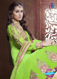 NS12054 Green Anarkali Suit