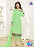 Khwaab Zaaina 1141 Green Georgette Party Wear Suit