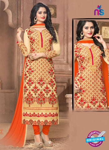 SC 14361 Yellow Georgette Designer Straight Suit