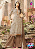 Omtex 1145 - Beige and Brown Color Lawn Cotton Designer Suit