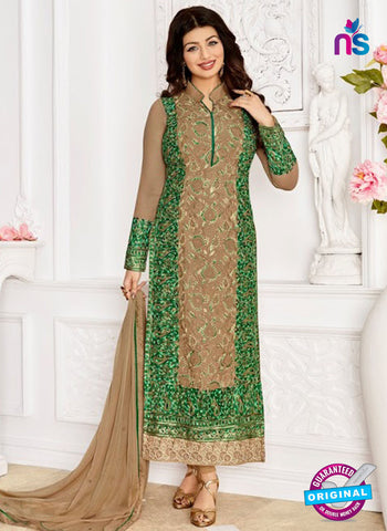 Zaaina 1148 Brown Party Wear Suit