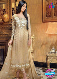 Buy NS11597  Beige Color Georgette Designer Suit