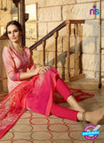 Omtex 1176 B Pink Lawn Cotton Suit