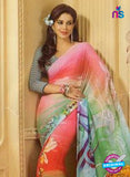 NS11876 Multicolor Georgette Saree