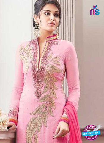 Shree Fabs 1192 Pink Party Wear Suit