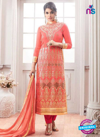 Shree Fabs 1194 Peach Party Wear Suit