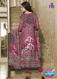 NS11950  Maroon and Multicolor Daily Wear Pashmina Straight Suit