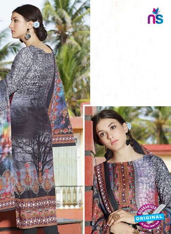 NS11952  Black and Multicolor Daily Wear Pashmina Straight Suit