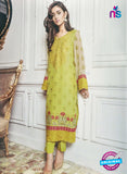 SC 13034 Designer Green Embroidered Georgette Pakistani Suit