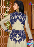 AZ 3516 Beige and Blue Anarkali Suit - Anarkali Suits - NEW SHOP