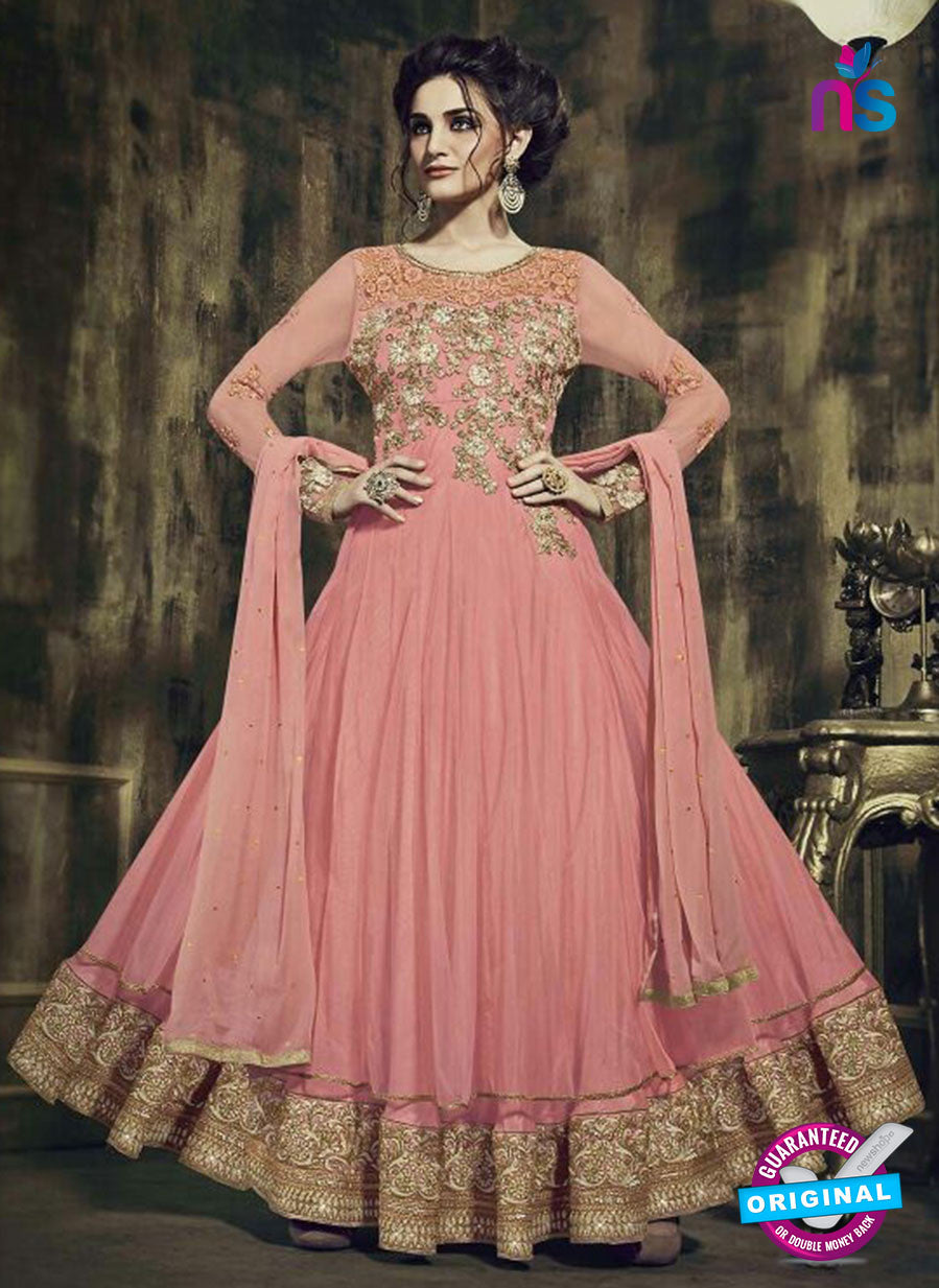 Fiona 12036 Pink Russel Net Fancy Designer Anarkali Suit
