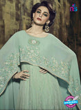 Fiona 12038 Sea Green Georgette Indo Western Suit