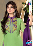 NS10168 Green and Purple Patiyala Suit Online