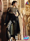 AZ 1042 Georgette Embroidery Black Suit