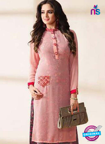 LT 1204 Pink Indo Western Tunic