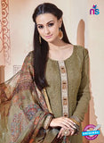 SC 13262 Beige Embroidered Georgette Party Wear Designer Suit Online