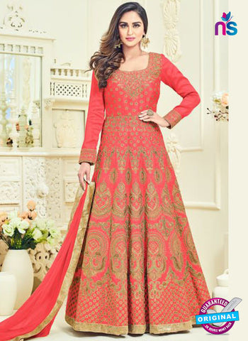 Arihant 12063 Peach Anarkali Suit