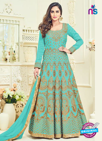 Arihant 12064 Sky Blue Anarkali Suit