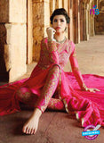 Glossy 1207 Georgette Embroidery Pink Suit Online Shopping