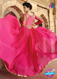 Glossy 1207 Georgette Embroidery Pink Suit Online