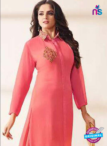 LT 1207 Pink Indo Western Tunic