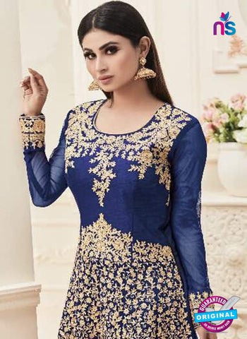 Sashi 12081 Blue Anarkali Suit