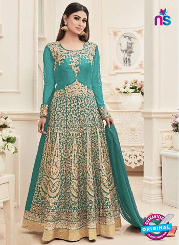 Sashi 12083 Sky Blue Anarkali Suit