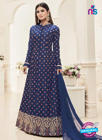 Sashi 12085 Blue Anarkali Suit