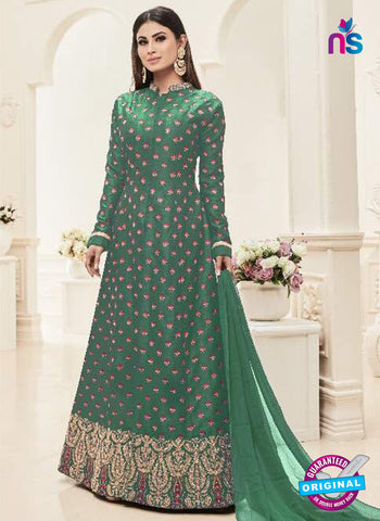 Sashi 12087 Green Anarkali Suit