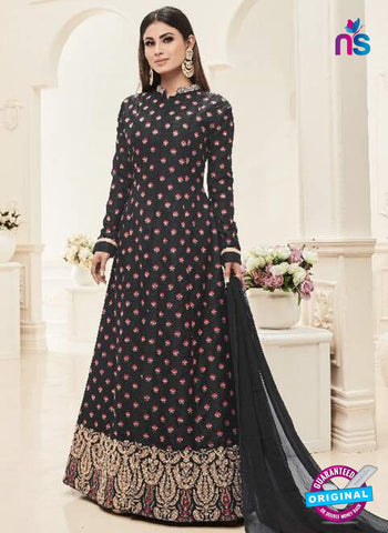 Sashi 12088 Black Anarkali Suit