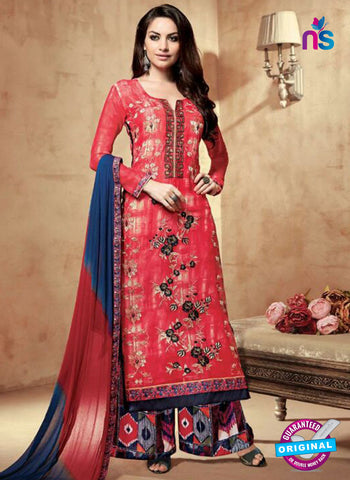 Kesari 1209 Red Designer Plazo Suit