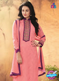 SC 12318 Peach and Party Wear Faux Georgette Straight Suit Online