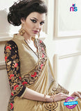 AZ 2154  Brown Georgette Fancy Party Wear Saree online