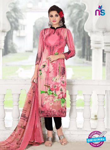 SC 14024 Pink and Black Exclusive Fancy Functional Wear Straight Plazo Suit