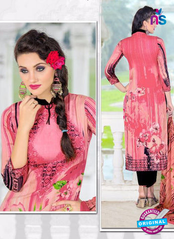SC 14024 Pink and Black Exclusive Fancy Functional Wear Straight Plazo Suit Online