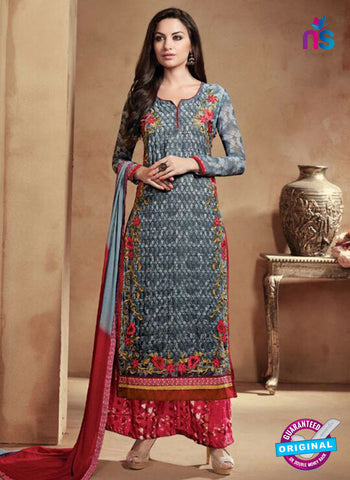 Kesari 1214 Grey Designer Plazo Suit