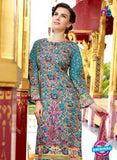 SC 12668 Multicolor and Magenta Lawn Cotton Embroidered Suit