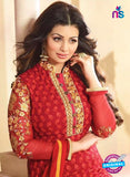 Zubeda 12604 Red Georgette Party Wear Suit Online