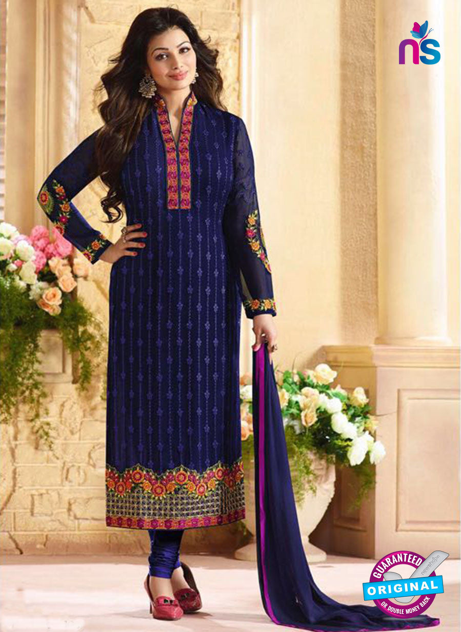 AZ 3454 Blue Georgette Party Wear Suit - Salwar Suits - NEW SHOP