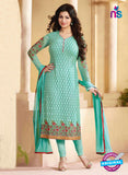 Zubeda 12607 Sea Green Georgette Party Wear Suit