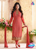 Zubeda 12609 Red Georgette Party Wear Suit