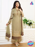 Zubeda 12701 Beige Georgette Party Wear Suit