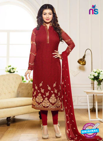 Zubeda 12702 Maroon Georgette Party Wear Suit
