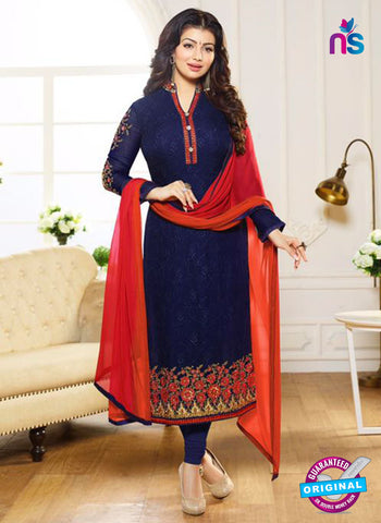 Zubeda 12703 Blue Georgette Party Wear Suit
