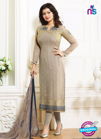 Zubeda 12704 Beige Georgette Party Wear Suit