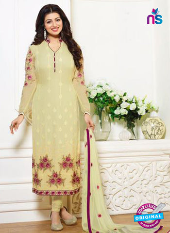 Zubeda 12705 Yellow Georgette Party Wear Suit