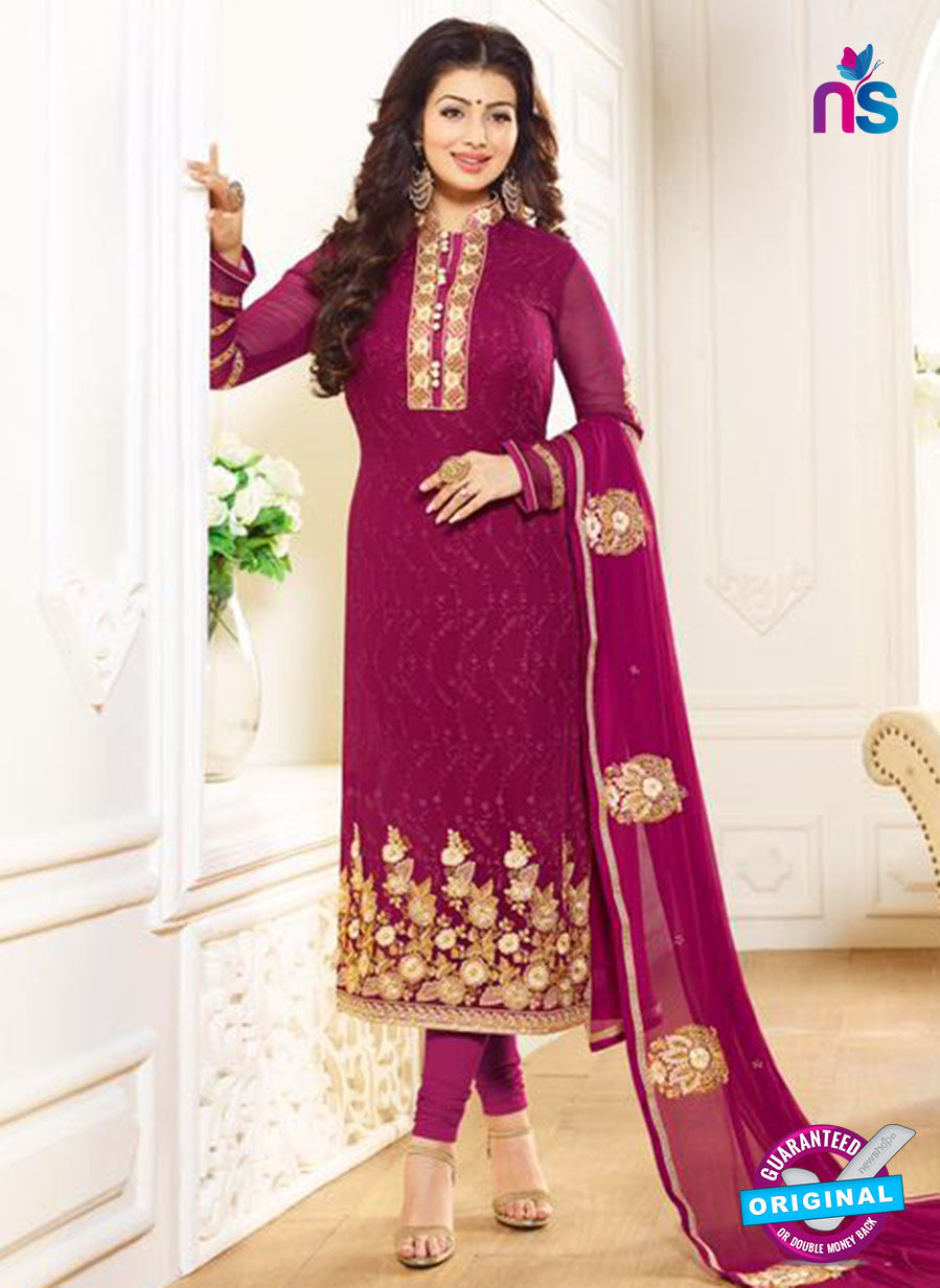 Zubeda 12707 Purple Georgette Party Wear Suit