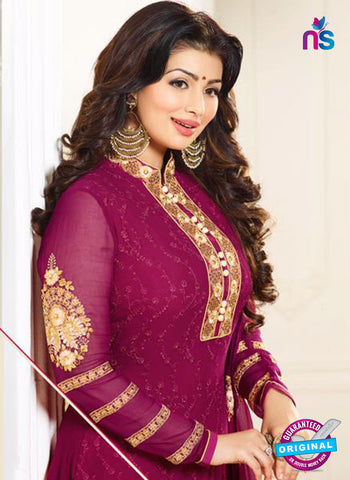 Zubeda 12707 Purple Georgette Party Wear Suit Online