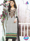 SC 12871 Black and White Cotton Designer Suit
